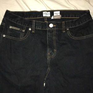 Dark blue Calvin Klein jeans
